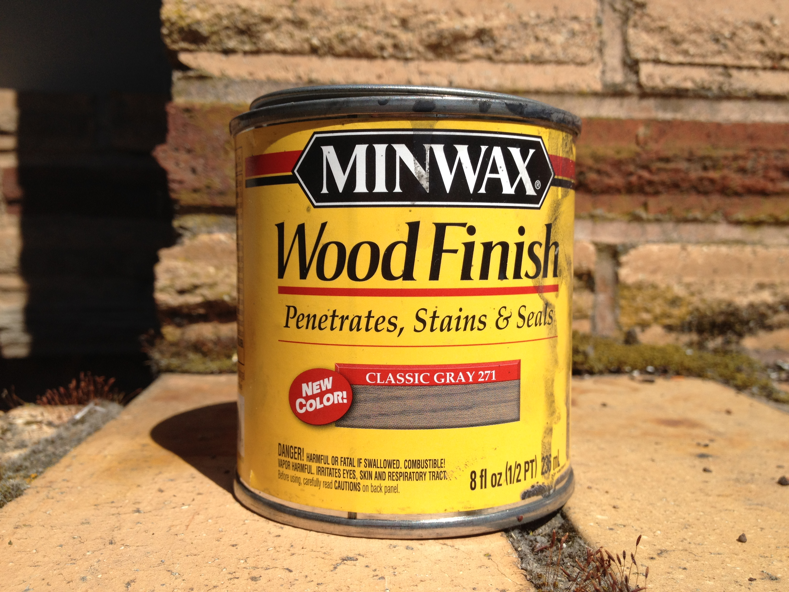 Bought a Grey Wood Stain For