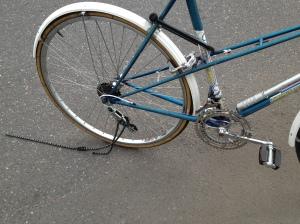 broke down bike